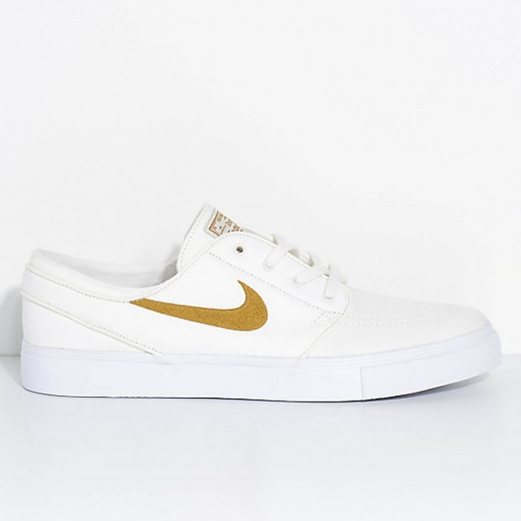Nike Shoes | Sb Janoski White Sailgolden Beige | Poshmark